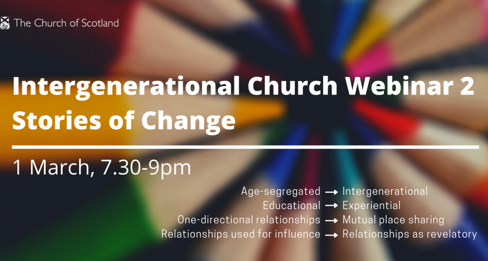 Intergenerational Church 2 webinar 1 March 2021