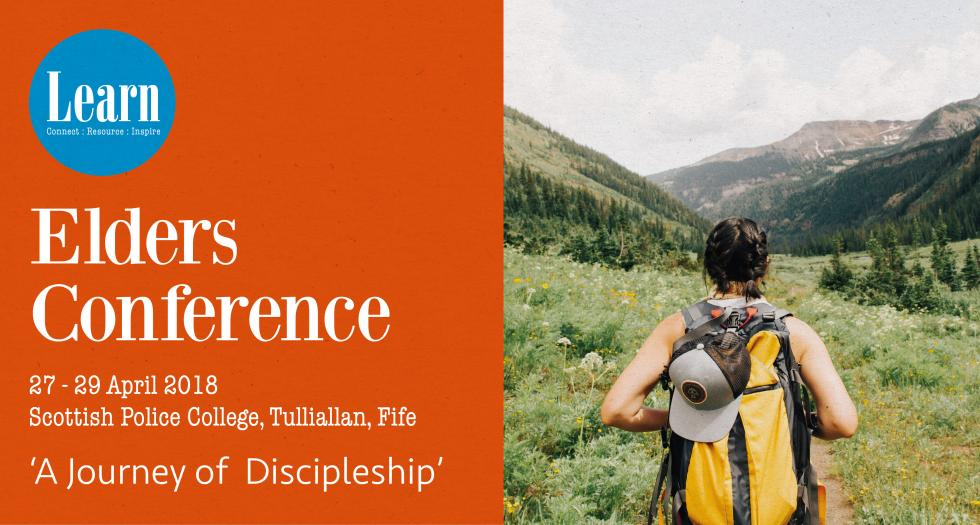 Elders conference 2018 - a journey of discipleship