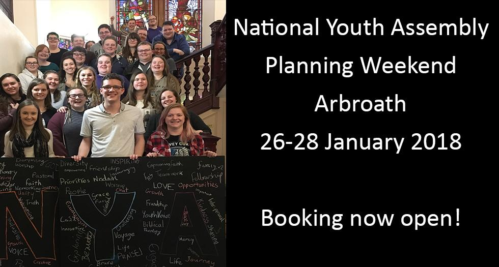 NYA 2018 Planning  Weekend January 2018