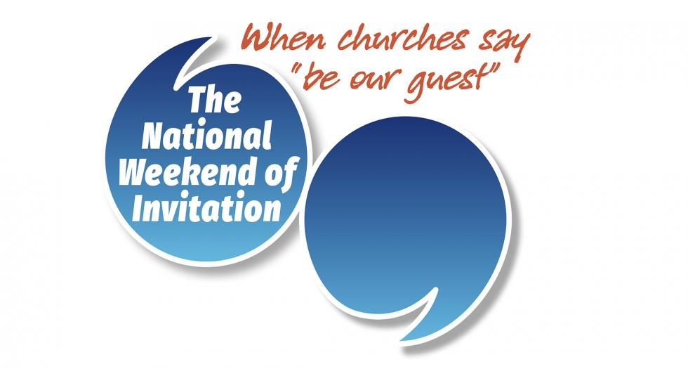 Weekend of Invitation logo and link to Events page