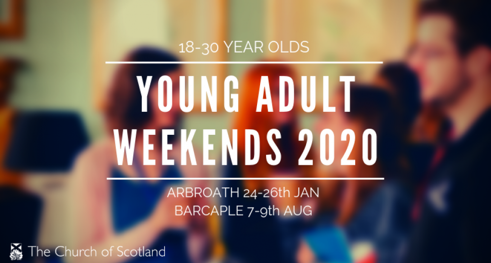 POSTPONED - National Young Adult Weekends 2020